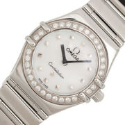 Omega Constellation Mini 1465.71 Shell Wristwatch Women And039s