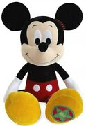 Disney Store Vintage Style Large 18 Mickey Mouse Collectible Velvet Plush