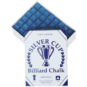 Silver Cup Chalk, Blue Or Green, 144-piece Box
