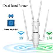 Outdoor Wifi Range Extender Wireless Access Point Dual Band High Power Router