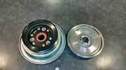 Honda H4514 Pto Clutch And Pulley 75106-758-013and75141-758-003 Genuine Oem Tractor