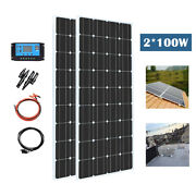 200w Rigid Glass Mono Solar Panel Kit Pv Manufacturers For Home Energy System