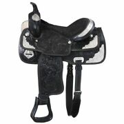 Tough-1 Tough 1 Mccoy Trail Saddle With Silver Package