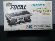 Focal Precision Made Folding Opera Glases 2.5andtimes25m/m