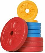 Stozm Supreme Fitness Cast Iron 1 Inch Weight Plates Total 65lbs