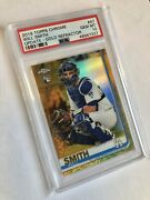 2019 Will Smith Topps Chrome 47 Gold Refractor Rc Psa 🔟 Dodgers Pop3️⃣ Ws🏆