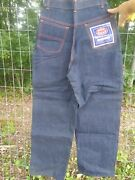 Vintage Red Snap Morgan Denim Jeans Nos Dead Stock Womenand039s Sz. 12