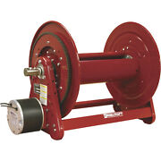 Reelcraft 1in. X 100ft Capacity Heavy-duty 12 Volt Dc Motor Driven Hose Reel