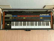 Roland Juno-6 Polyphonic Synthesizer Polysix Vintage Rare Used Working Tested