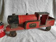 Vintage Lms Locomotive By Lines Bros Triang Toys - Wooden Toy Train