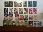 Jonathan Taylor Rookie Card Lot Of 32 Select Field Level Inserts Parallels Mint