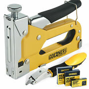 3-in-1 Stapler Heavy Duty With 3000 Staples D U And T With Staple Remover