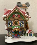 Department 56 Disney Showcase Collection Mickey's North Pole Holiday House.