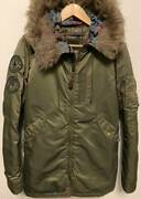 Hysteric Glamour N-3b Primalloft Girl Patches Air Force Jacket Ia230