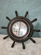 And Co. New York Shipand039s Bell Clock Chelsea Clock Co. 1901 Pat Date Working