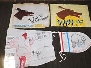 Vintage Bsa Boy Scouts Of America 1967 Beaver Patrol Wolf Schenectady Banners