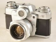 Zeiss Ikon Icon Contarex W/ Planar 50mm F2 Maintained Guarantee 12237