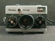 Film Camera Rollei 35 Se With Leather Case Singapore