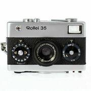 Film Camera Rollei 35 Initial Model 311 Xxxx Made In Germany Good Condition