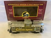 Mth Premier 20-90012f Chessie Extended Vision Caboose 3143 New O Gauge