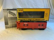Mth Rail King Canadian National Rotary Snow Plow 30-7922 Used O Gauge 79814