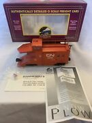 Mth Premier 20-98228 Canadian National Snow Plow 55283 O Gauge New