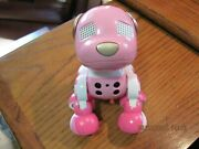 Zoomer Zuppies Robot Pink Dog Lights Up And Musical Pet Animal Spin Master Toy
