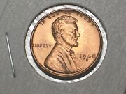 1948-s @ Uncirculated Lincoln Wheat Penny {from Unc. Roll}