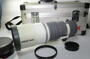 With 112mm Genuine Filter Pentax Smc-m 67 400mmf4 Ed If Trunk Tube 942l
