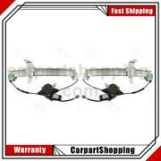 2 Aci Power Window Motor And Regulator Assembly Front For Lincoln Town Car