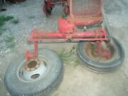 Farmall Cub Tractor Ih Main Wide Front End + Spindles + Holder Drop Hub