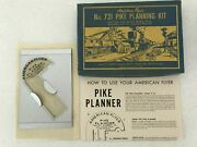 American Flyer Pike Planning Kit 731 Layout Tool W/insert And Instructions
