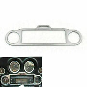 Stereo Accent Trim Ring Cover Fit Ultra Classic Touring Flhx Flht Chro Us