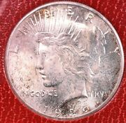 1926-s Peace Silver Dollar - Ngc Ms64 Redfield Collection Flashy Die Polish