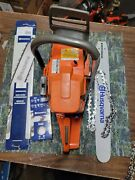 Husqvarna Chainsaw 372xp Used Running Saw With New 20 Bar And Chain