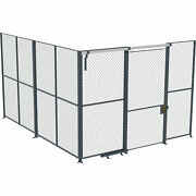 Husky Rack And Wire Ez Wire 20ftlx20ftwx10fth 2-sided Cage- 4ft Slide Door