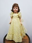 """Vintage 27"""" Effanbee Anne - Shirley American Children Compo Doll"""