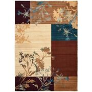 Rizzy Home Bellevue Collection Power-loomed Accent Rug 6and0397 Ivory/beige 6and0397 X 9