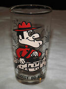 Vintage Dudley Do Right Pepsi Collector Drinking Glass Nice