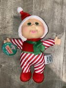 Cabbage Patch Doll Holiday Helper Christie Candy Cane Small Mark On Face