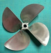 Acme 3047 4 Blade 17 X 19.5 Inboard Propeller Left Hand Cupped 1 1/4 Bore