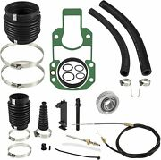 Fit For Mercruiser Alpha One Sei Transom Seal Bellows Kit With Lower Shift Cable