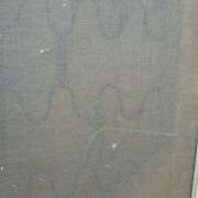 Vintage Thonet 1960s Florence Knoll Type Bench Stainless Steel 6 Legs 3 Seater.