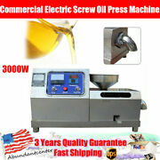 3000w Commercial Electric Screw Oil Press Machine Oil Extractor Stainless Steel