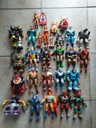 Huge Vintage Thundercats Ljn Action Figures Lot Price Includes Dhl Shipping