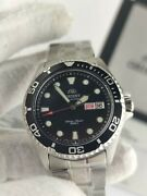 Orient Ray Ii Black Dial Automatic 200m Diver's Men's Faa02004b9 Watch - New