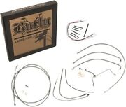 Extended Cable Kit For 16 Bars Bub. B30-1165 17-20 Hd Road Glide Non-abs