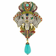 Heidi Daus Emperor's New Clothes Crystal Pin New And Adorable