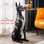 New Nordic Animal Figurines Home Decor Large Landing Dog Statue Sculpture Gift