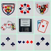Playing Cards Embroidery
